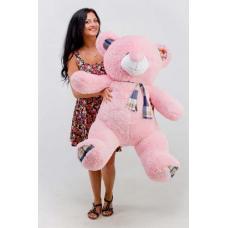"""Плюшевый медведь TeddyBoom """"Веня"""" 130 см. розовый"""