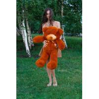"""Плюшевый медведь TeddyBoom """"Тедди"""" 100 см. коричневый"""