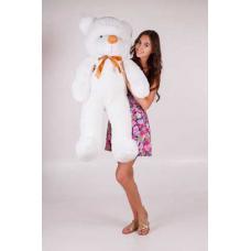 """Плюшевый медведь TeddyBoom """"Тедди"""" 120 см. белый"""