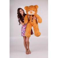 """Плюшевый медведь TeddyBoom """"Тедди"""" 120 см. карамельный"""