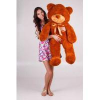 """Плюшевый медведь TeddyBoom """"Тедди"""" 120 см. коричневый"""
