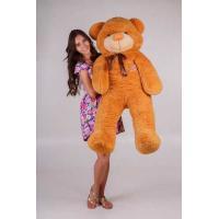 """Плюшевый медведь TeddyBoom """"Тедди"""" 140 см. карамельный"""