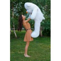 """Большой плюшевый медведь TeddyBoom """"Тедди"""" 160 см. белый"""