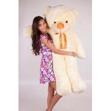 """Большой плюшевый медведь TeddyBoom """"Тедди"""" 160 см. кремовый"""