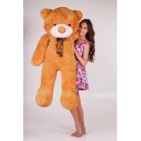 """Большой плюшевый медведь TeddyBoom """"Тедди"""" 160 см. светло-коричневый"""