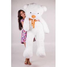 """Большой плюшевый медведь TeddyBoom """"Тедди"""" 180 см. белый"""