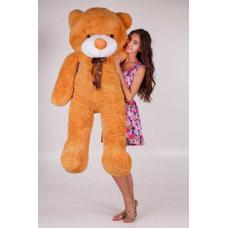 """Большой плюшевый медведь TeddyBoom """"Тедди"""" 180 см. карамельный"""