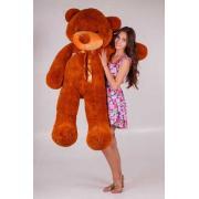 """Большой плюшевый медведь TeddyBoom """"Тедди"""" 180 см. коричневый"""