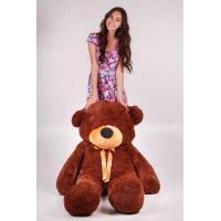 """Большой плюшевый медведь TeddyBoom """"Тедди"""" 180 см. шоколадный"""