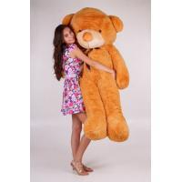 """Большой плюшевый медведь TeddyBoom """"Тедди"""" 200 см. карамельный"""