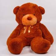 """Большой плюшевый медведь TeddyBoom """"Тедди"""" 200 см. коричневый"""