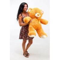 """Плюшевый медведь TeddyBoom """"Томми"""" 100 см. карамельный"""