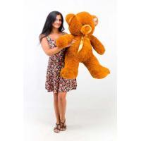 """Плюшевый медведь TeddyBoom """"Томми"""" 100 см. коричневый"""