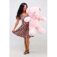 """Плюшевый медведь TeddyBoom """"Томми"""" 100 см. розовый"""