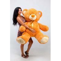 """Большой плюшевый медведь TeddyBoom """"Томми"""" 150 см. карамельный"""