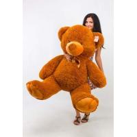 """Большой плюшевый медведь TeddyBoom """"Томми"""" 150 см. коричневый"""