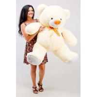 """Большой плюшевый медведь TeddyBoom """"Томми"""" 150 см. кремовый"""
