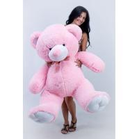 """Большой плюшевый медведь TeddyBoom """"Томми"""" 150 см. розовый"""