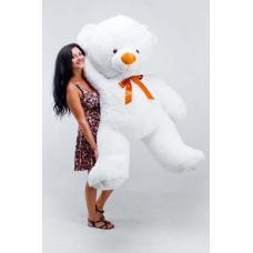 """Большой плюшевый медведь TeddyBoom """"Томми"""" 200 см. белый"""