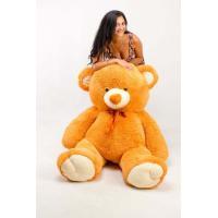 """Большой плюшевый медведь TeddyBoom """"Томми"""" 200 см. карамельный"""