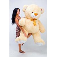 """Большой плюшевый медведь TeddyBoom """"Томми"""" 200 см. кремовый"""